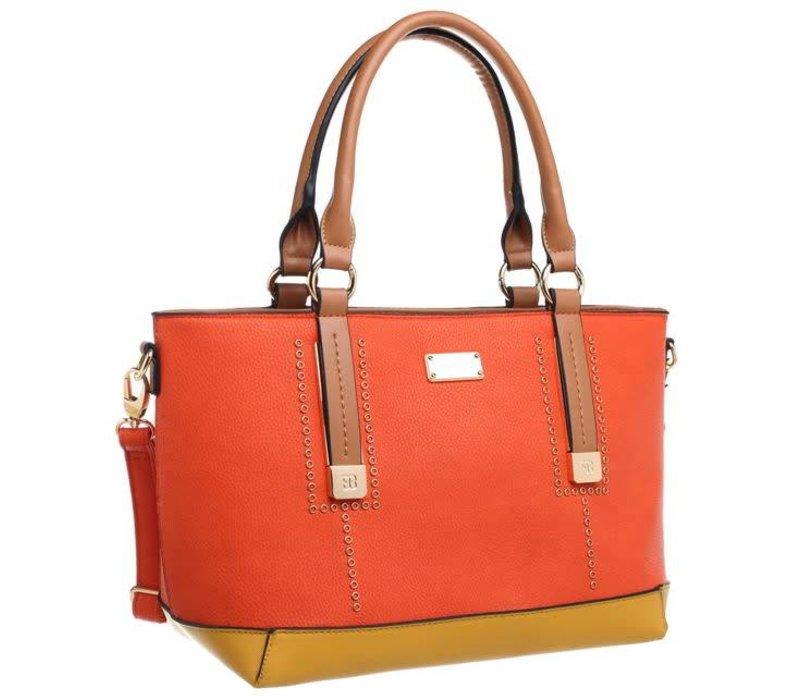 Bessie BW3761 Orange Tote