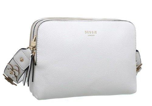 BESSIE London Bessie BL3701 White Bag
