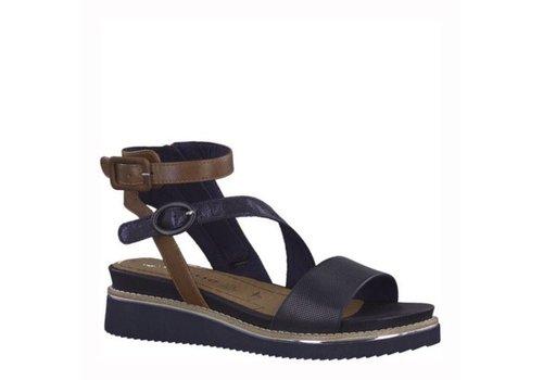 Tamaris Tamaris 28208 Navy/Cognac Sandals