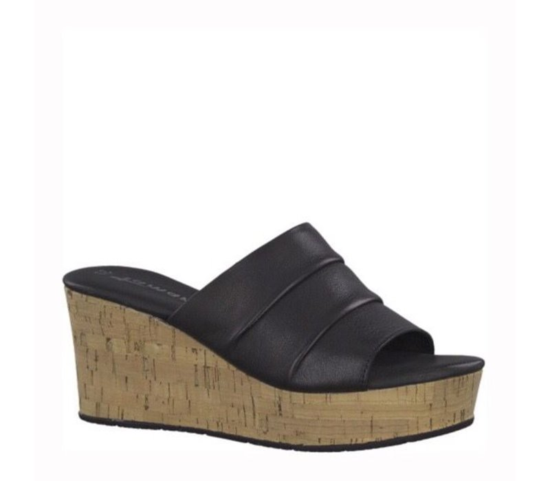 Tamaris 27222 Black Mules
