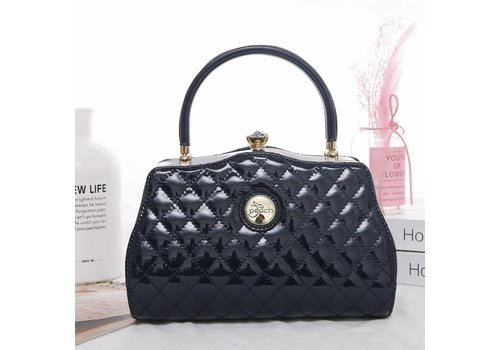 Peach Accessories ZW1803 Quilted Navy Bag