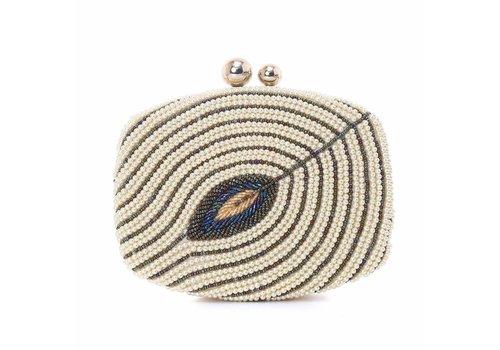 Peach Accessories F7621-01 Gold Beaded Bag