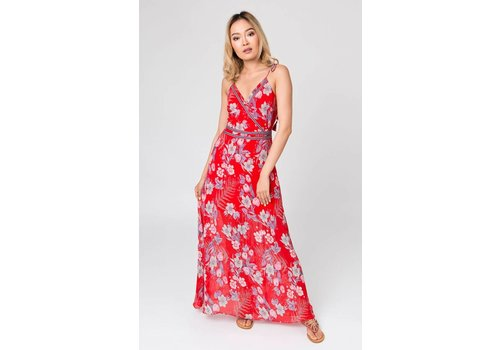 Pia Rossini VIRGINIA MAXI DRESS RED
