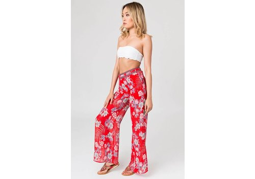 Pia Rossini VIRGINIA TROUSERS RED