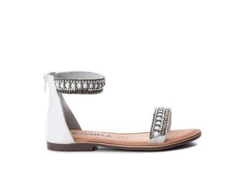 Carmela Carmela 66642 White decorative Sandal