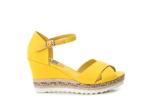 Refresh S/S Refresh 69811 Yellow Canvas Sandals