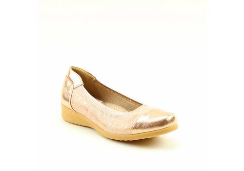 Heavenly Feet H.F. ZEST Rose Gold Pumps