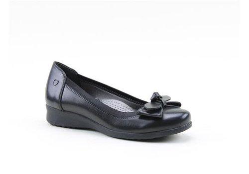 Heavenly Feet H.F. SAGE Black Matt pumps