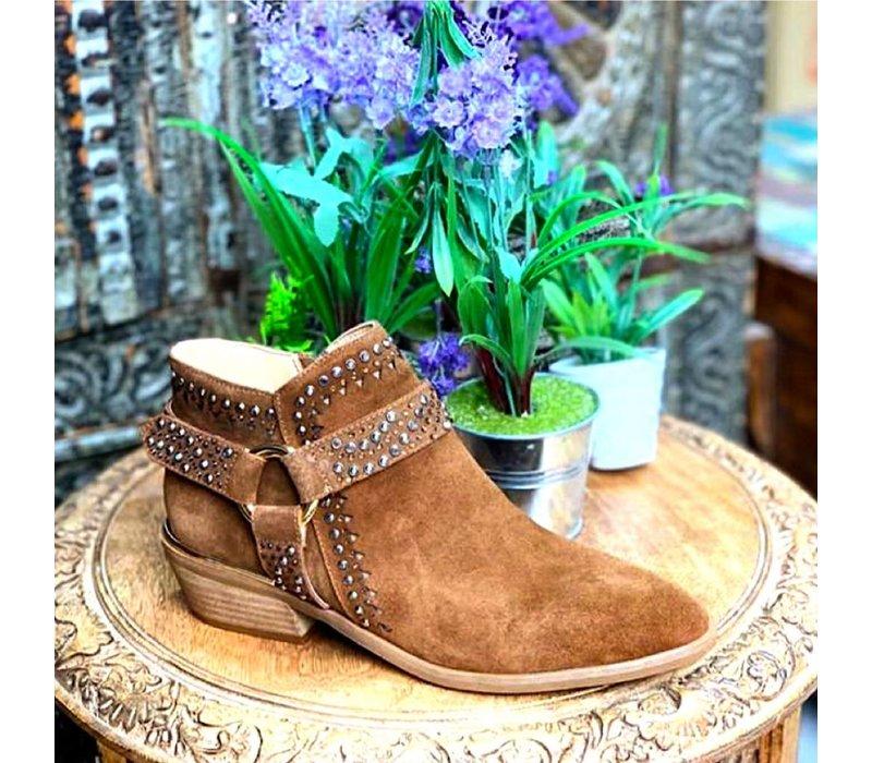 Alma en Pena V19135 Tan A/Boots