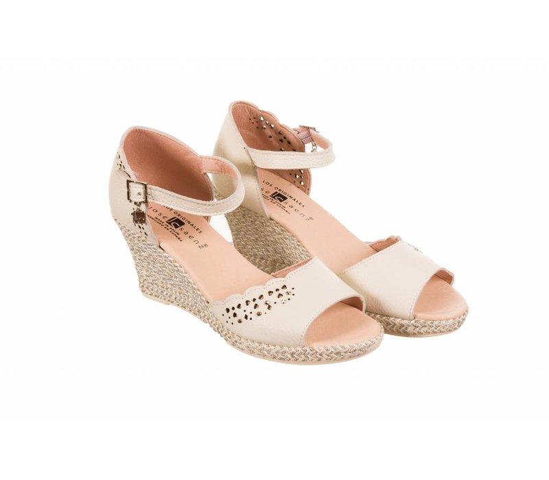 Jose Saenz 6059-BG Cream Sandal