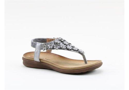 Heavenly Feet H.F. ANNA Silver Toe Post
