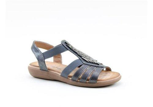 Heavenly Feet H.F. AGNETA Black Sandal