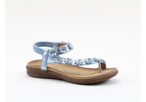 Heavenly Feet H.F. ESME Blue Sandals