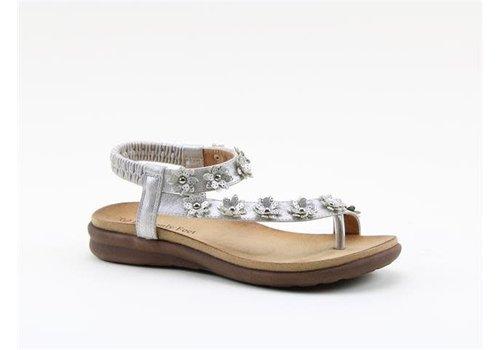 Heavenly Feet H.F ESME Silver Sandals