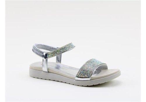 Heavenly Feet H.F. MAXINE Silver Sandals