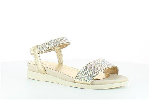 Heavenly Feet H.F. MAXINE Gold Sandals