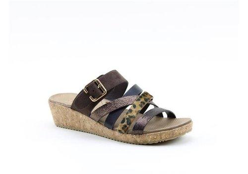 Heavenly Feet H.F. MIA Brown Multi