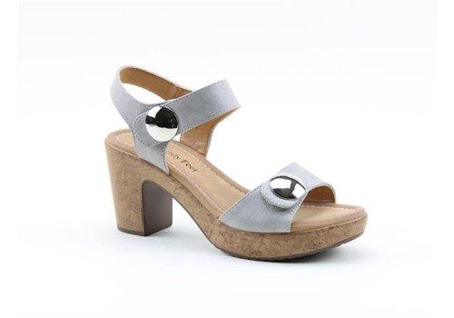 Heavenly Feet H.F. SADIE Grey Sandals