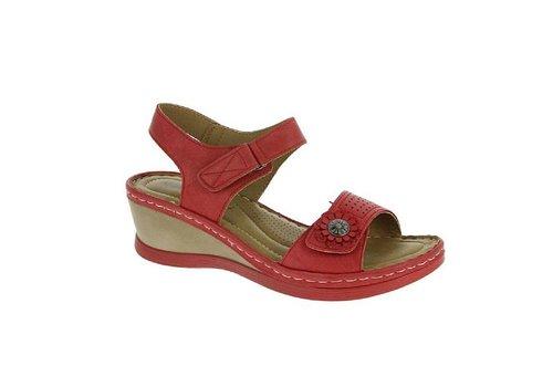 Heavenly Feet H.F. GERANIUM Red Sandals