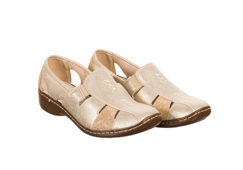 REDZ REDZ Lady Birds 562-9 Gold shoes