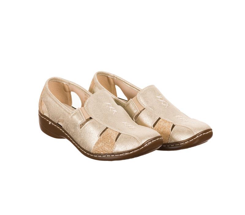 REDZ Lady Birds 562-9 Gold shoes