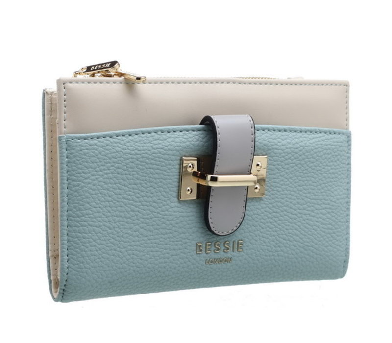 Bessie BP1220 Blue Purse