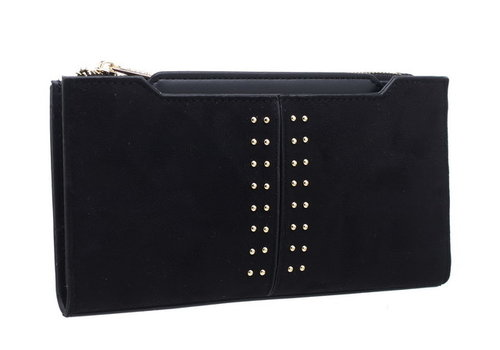 BESSIE London Bessie BP1208 Black Purse