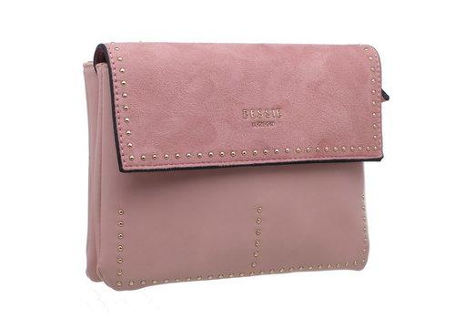 BESSIE London Bessie BL3698 Pink Crossbody Bag