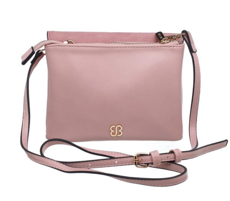 Bessie BL3698 Pink Crossbody Bag