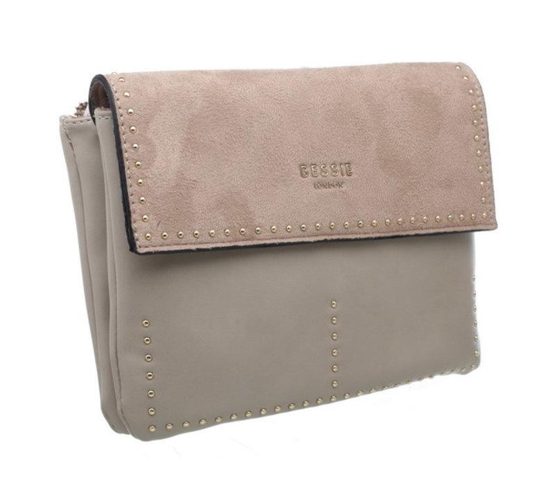 Bessie BL3698 Beige Crossbody Bag
