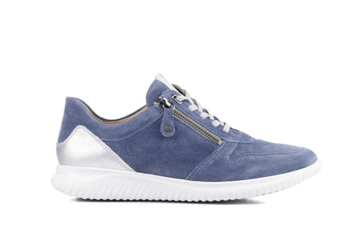 Hartjes Hartjes 110462 Blue Leather Suede