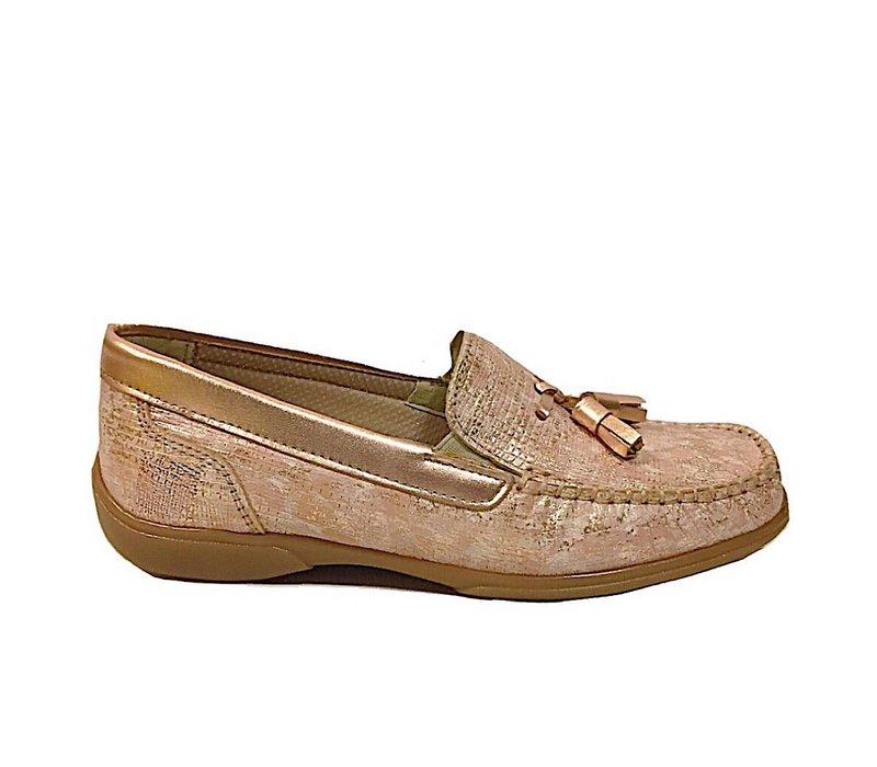 Teresa Torres 7019 Pink Loafers