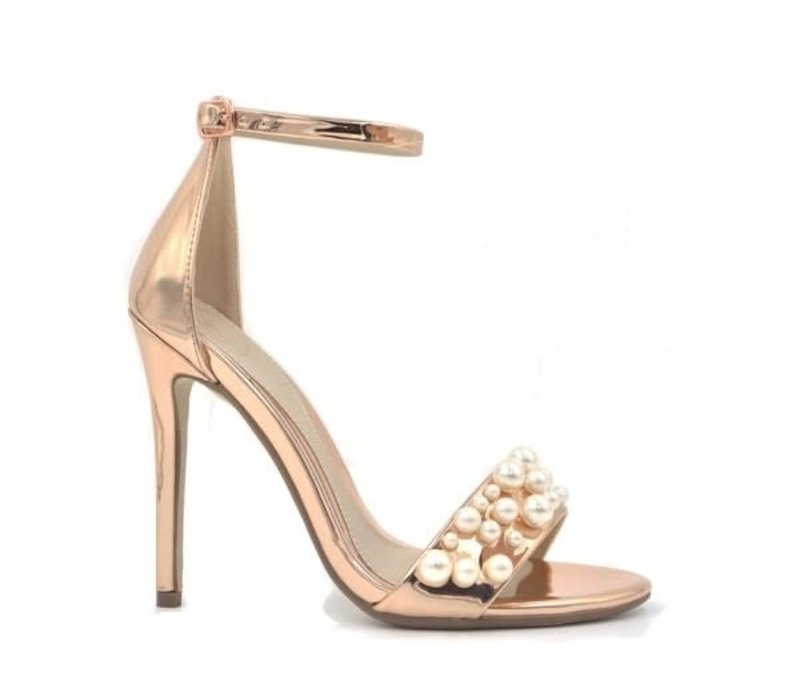 Milly & Co. STACIE Rose Gold/Pearls