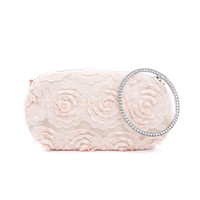 F2265 Beige Clutch Bag