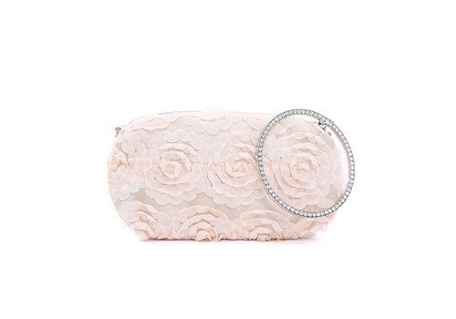 Peach Accessories F2265 Beige Clutch Bag