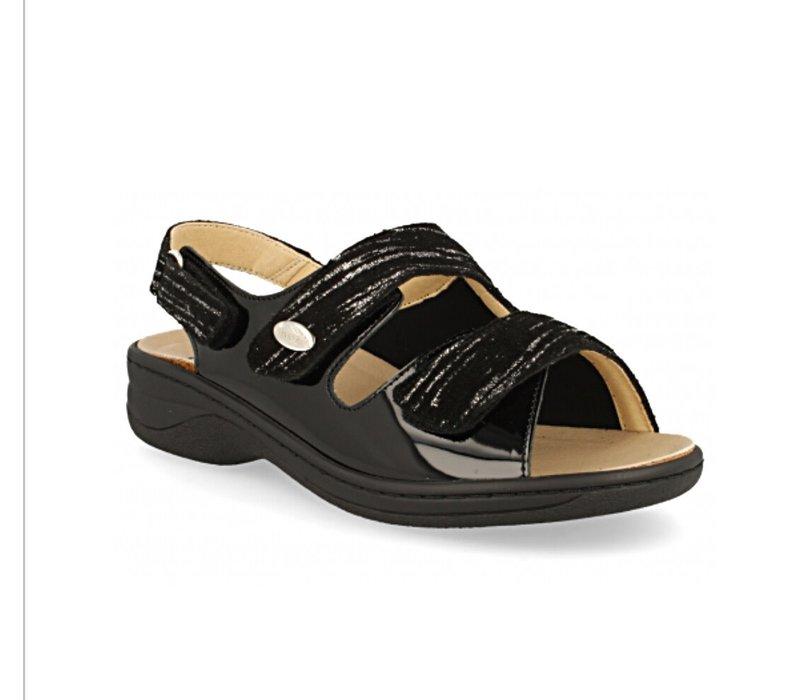 d'torres JULIA Black Sandals