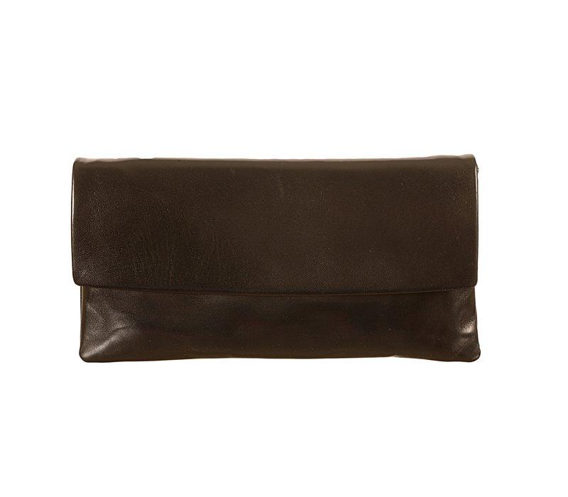 Le Babe Softy Nero Nappa Bag