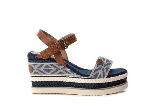 Refresh S/S Refresh 69911 Blue Wedge Sandal