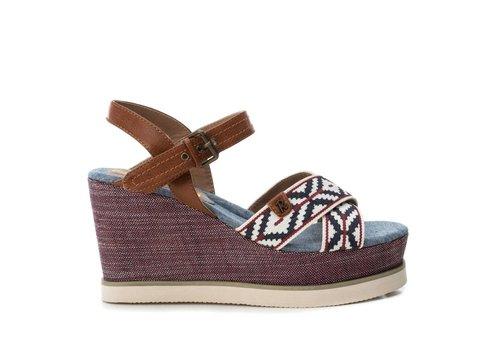 Refresh S/S Refresh 69912 Blue Wedge Sandals
