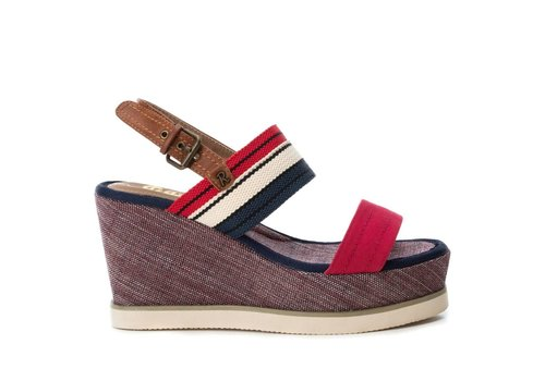 Refresh S/S Refresh 69909 Red multi Wedge