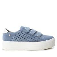 Refresh 69712 Blue Suede Sneakers