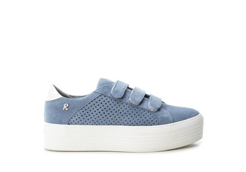 Refresh S/S Refresh 69712 Blue Suede Sneakers