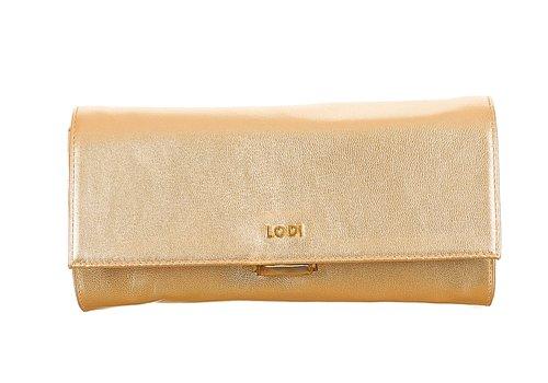 Lodi CAPRINO Pale Gold Leather Bag