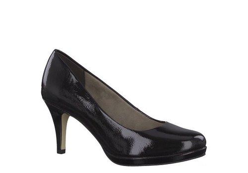 Tamaris A/W Tamaris 22444 Black Patent Shoe