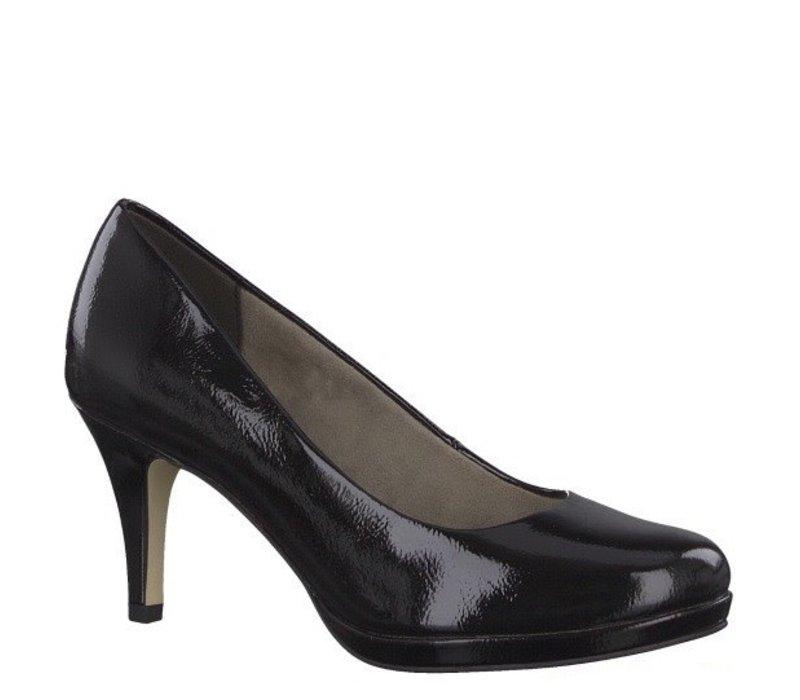 Tamaris 22444 Black Patent Shoe