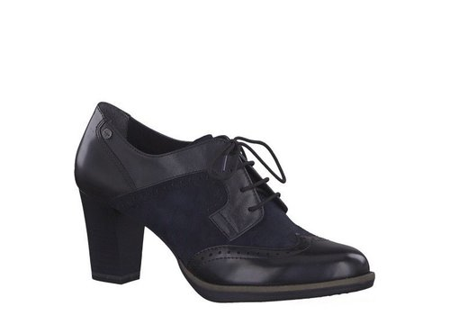 Tamaris Tamaris 23311 Navy Heel Brogue