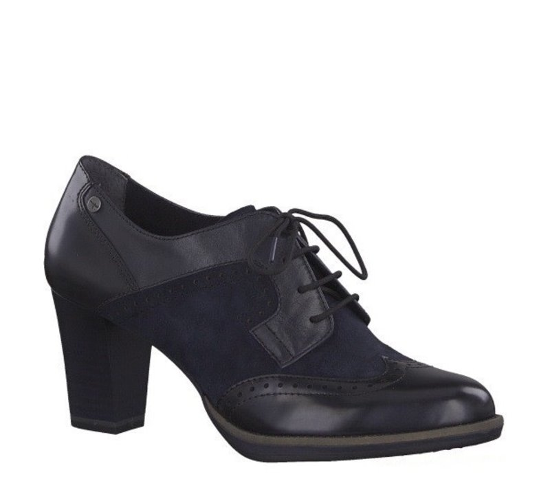 Tamaris 23311 Navy Heel Brogue