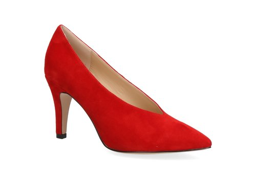 Caprice Caprice 22403 Red Suede Shoe