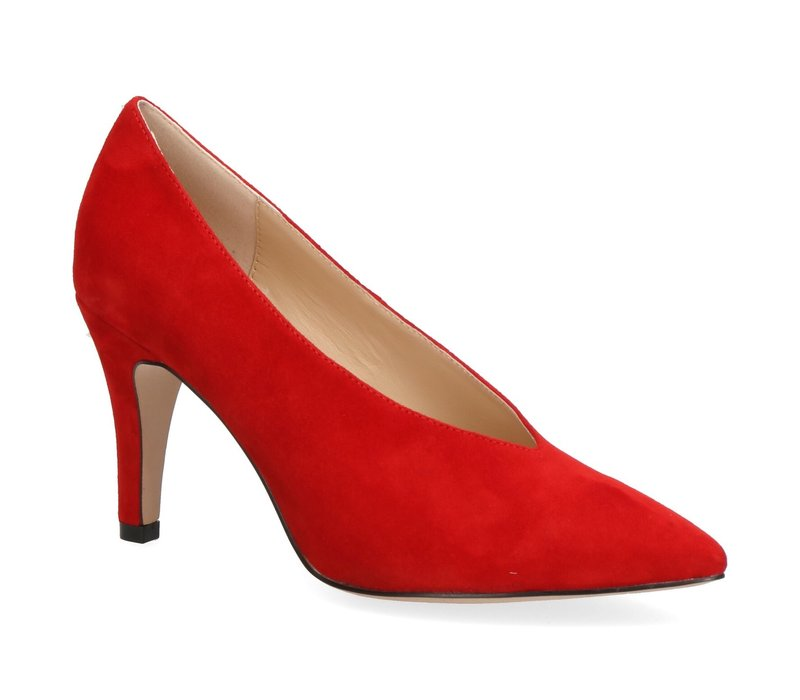 Caprice 22403 Red Suede Shoe