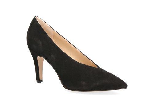 Caprice Caprice 22403 Black Suede Shoe